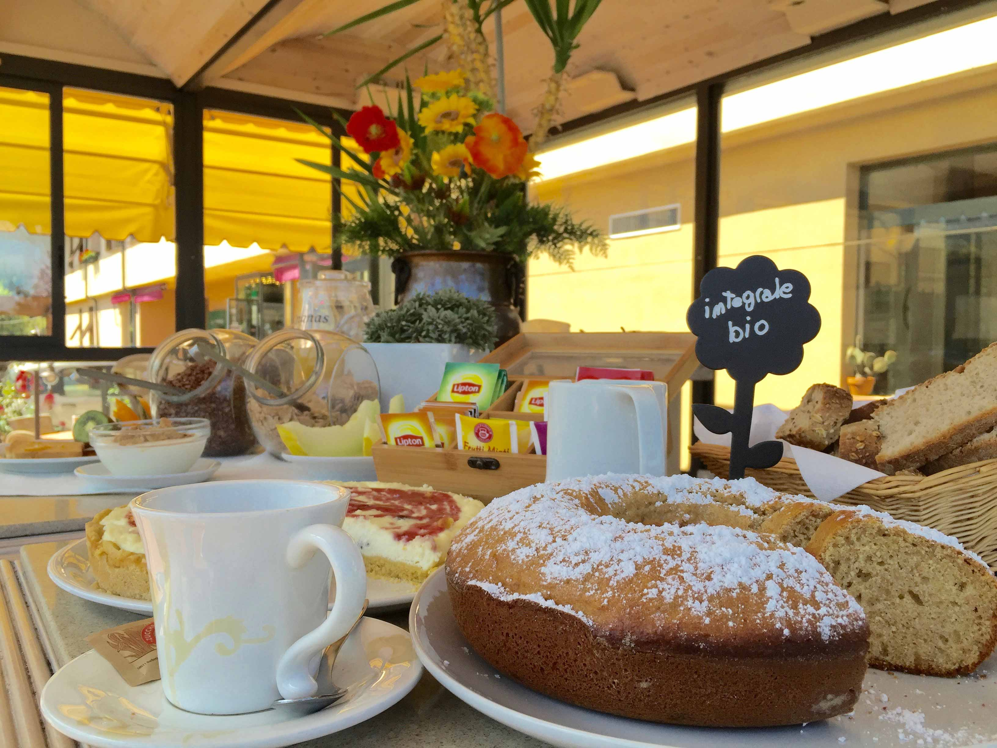 Hotel Antica Badia Volterra in Tuscany - the breakfast with whole food, light and bio